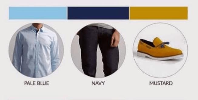 كيفية تنسيق الألوان في الملابس الرجالي