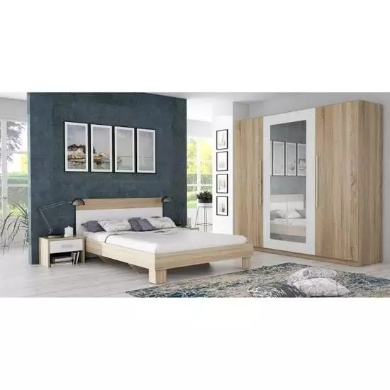 chambres adulte design moderne pas cher