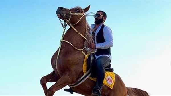 أهل مصر أحمد سعد يرقص بالحصان على أغنية بحبك يا صاحبي فيديو