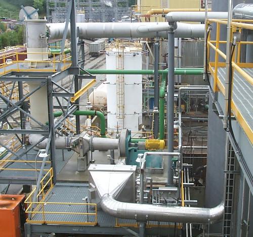 A,H. Lundberg - Non-condensable NCG gas collection system