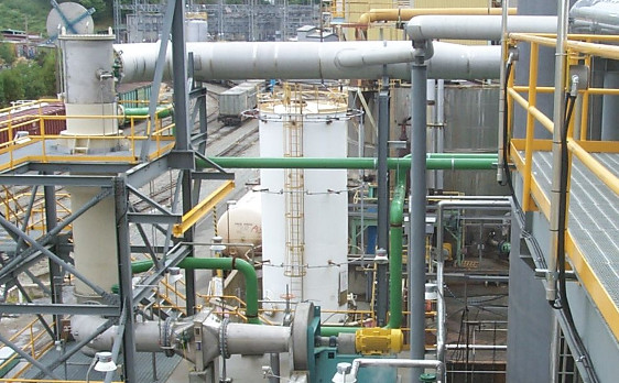 A.H. Lundberg Gas Collection System - DNCG Collection for Pulp Mill