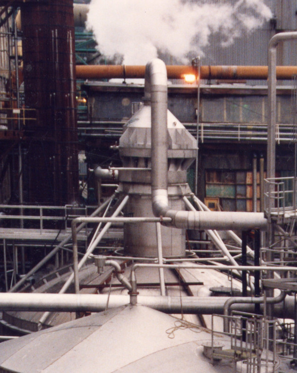 A.H. Lundberg - Heat Recovery Direct Contact Condenser