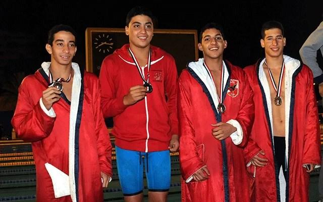 الأهلي يشارك في بطولة القاهرة الشتوية للسباحة