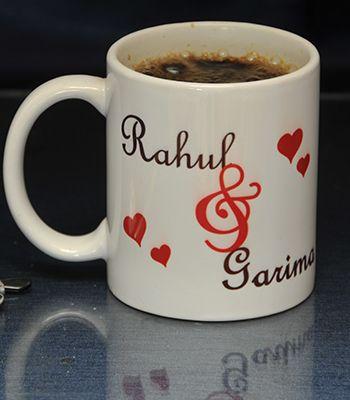couple name mug