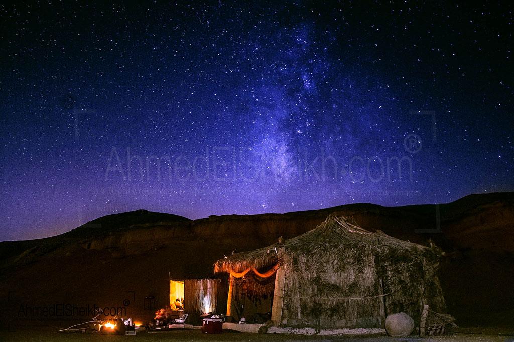 Milky way Over AlFaiyum