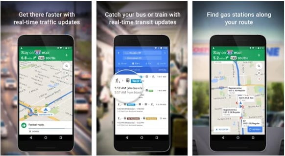 android mobil google maps