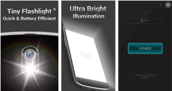 android mobil tiny led flash