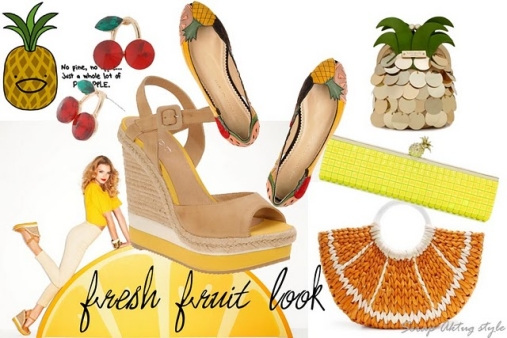 Key fashion trends of the season Fruit accessories