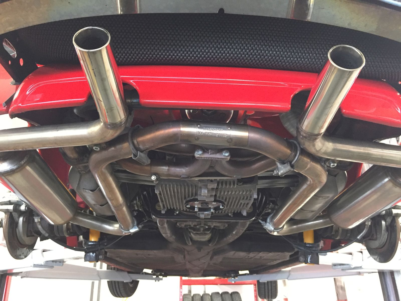 hight resolution of streetsport silent exhaust vw beetle stainless steel vw beetle type 1