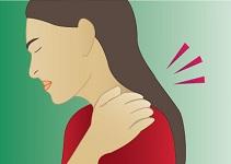 Chronic sore throat or neck pain