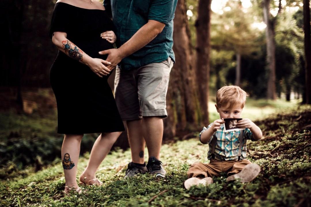 maternity family photo shoot