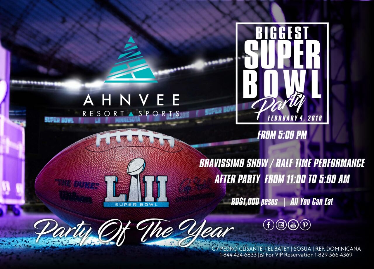 THE BIGGEST SUPER BOWL PARTY