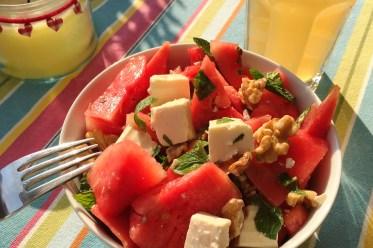 """""""Ich habe eine Wassermelone getragen!"""" -Salat"""