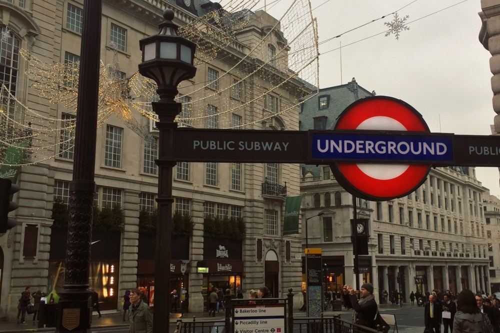 Ein paar Tage in London - Piccadilly Circus
