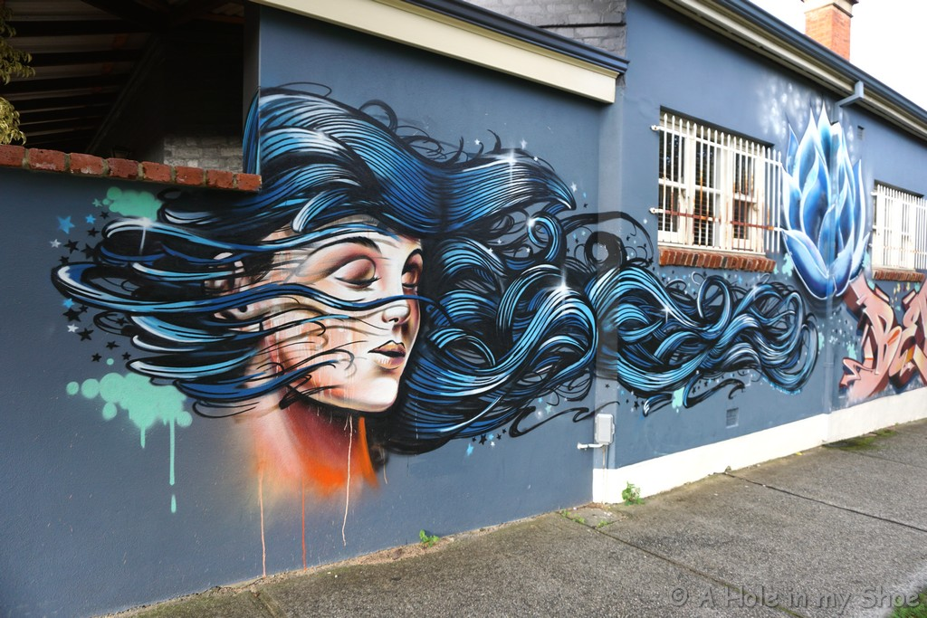 Be the change that you want to see in the world on a Victoria Park home by Konfucius Art By Destroy and Idol Motions