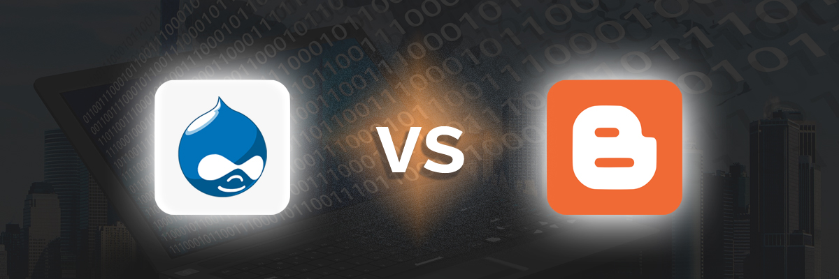 Drupal vs Blogger-ahomtech