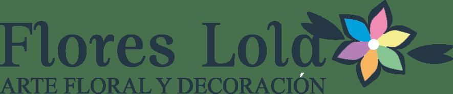 Flores Lola Logo azul