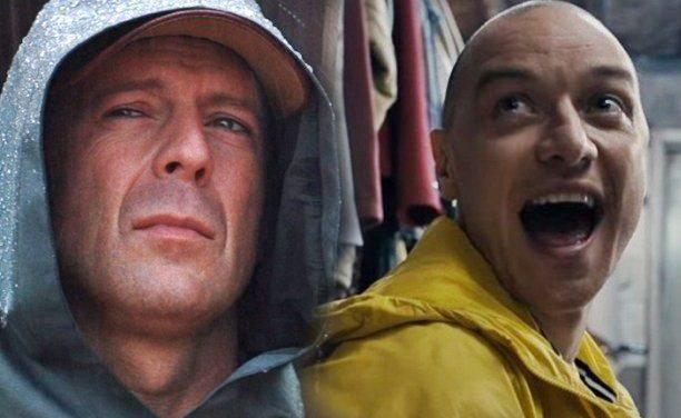 Glass | Bruce Willis e James McAvoy lutam em vídeo dos bastidores da sequência de 'Fragmentado' e 'Corpo fechado'