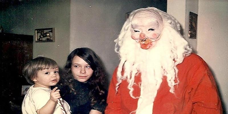 Confira fantasias assustadoras de Papai Noel