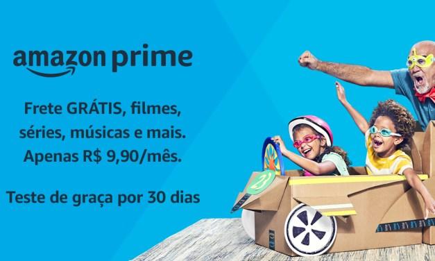 Conheça as vantagens do Amazon Prime que custa apenas R$ 9,90 por mês