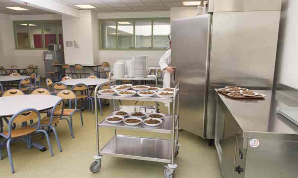 Una encuesta de satisfaccin sobre los comedores escolares