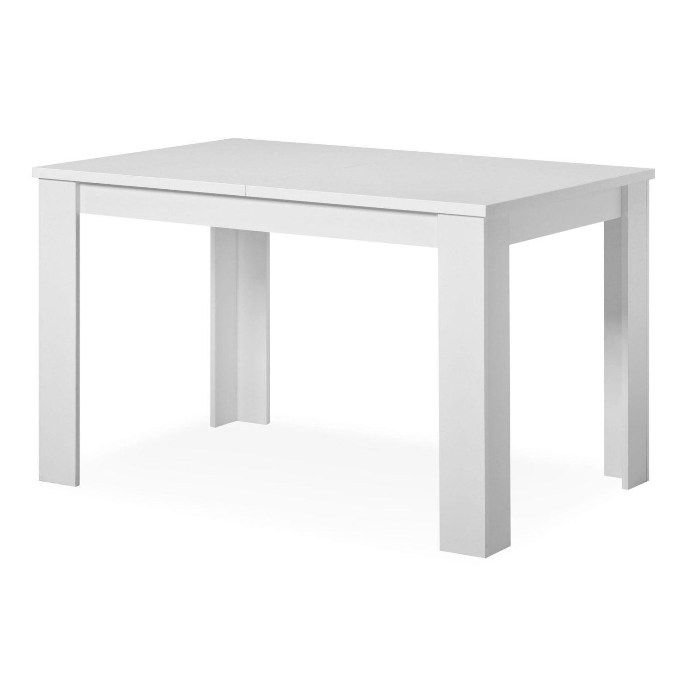 Mesa comedor buen precio 120 cm blanco extensible 153 cm