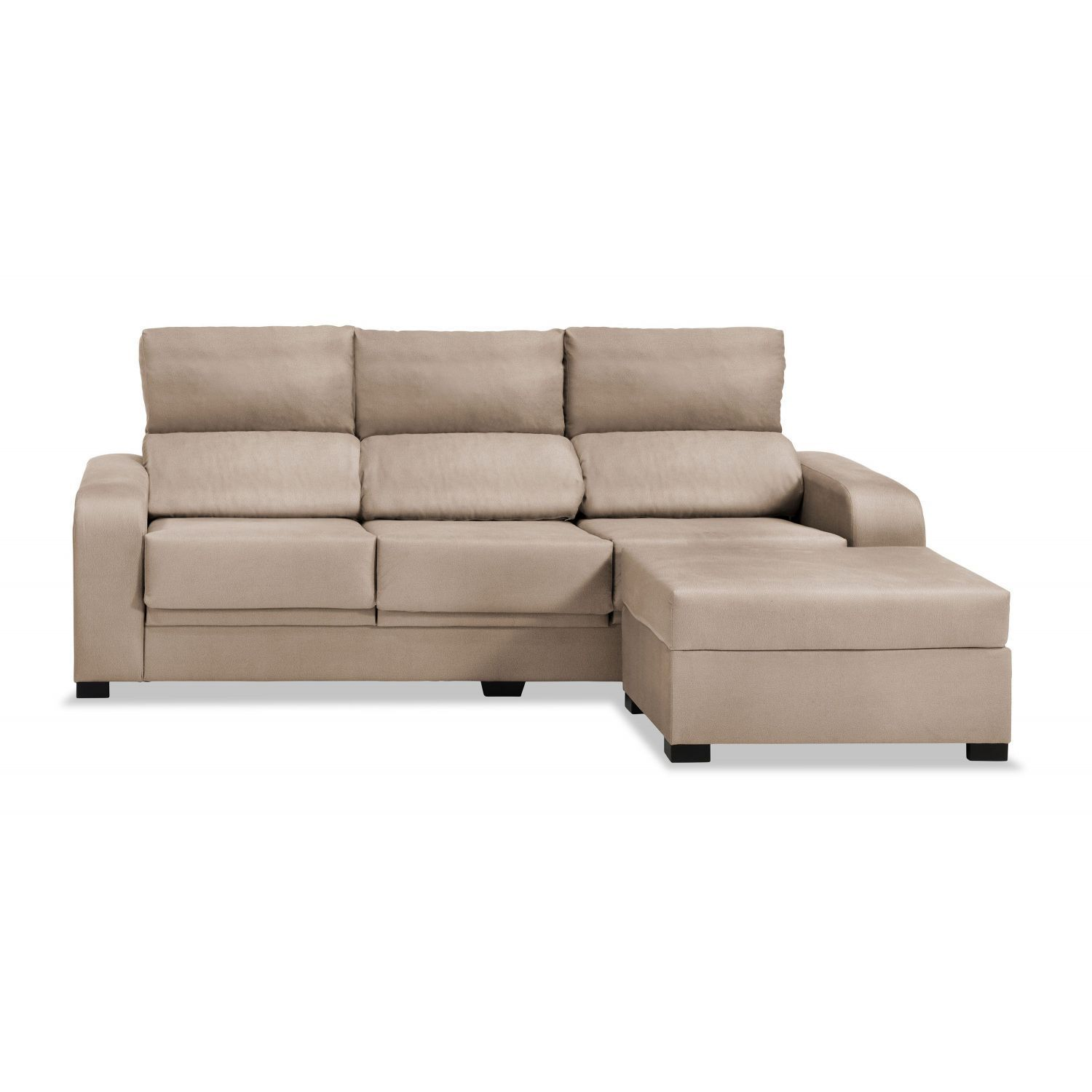 sofa clearance london end table ideas sofá chaise longue beige reclinable extensible 220 cm