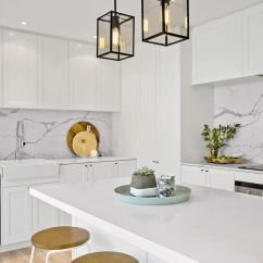 Lantern Pendant Lights For Kitchen 4 Stool Island 21 Gorgeous Over An Bench | A House ...