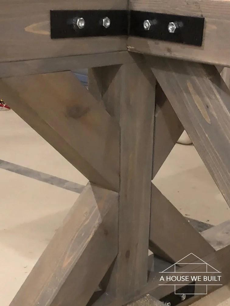 4×4 Table Leg Brackets