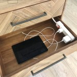 How To Diy A Nightstand Charging Drawer