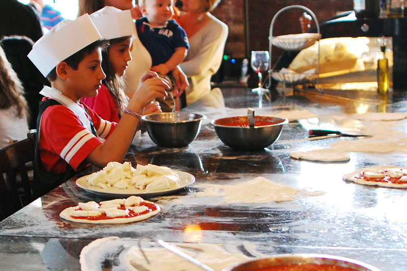 Kids Pizza Parties Pizza Making Party In Montclair NJ And