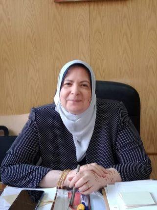 رندا حلاوة رئيس الادارة المركزية لمركز اعداد القيادات التربوية