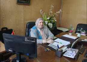 رندا حلاوة رئيس الادارة المركزية لمركز اعداد القيادات التربوية1