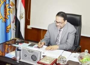 المهندس ناصر حسن وكيل وزاره التربيه والتعليم بمحافظه الغربيه