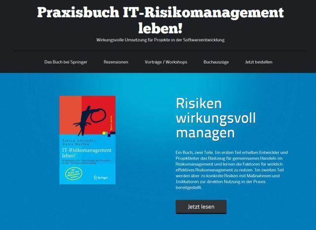 IT-Risikomanagement-Leben-Webseite