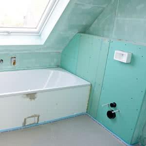 Badezimmer abdichten  Ahrens Hoch und Tiefbau
