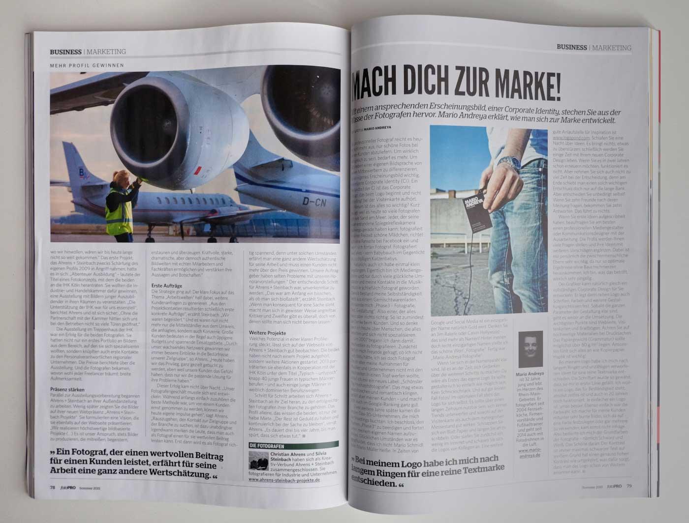 Ahrens+Steinbach im Interview der fotoPRO