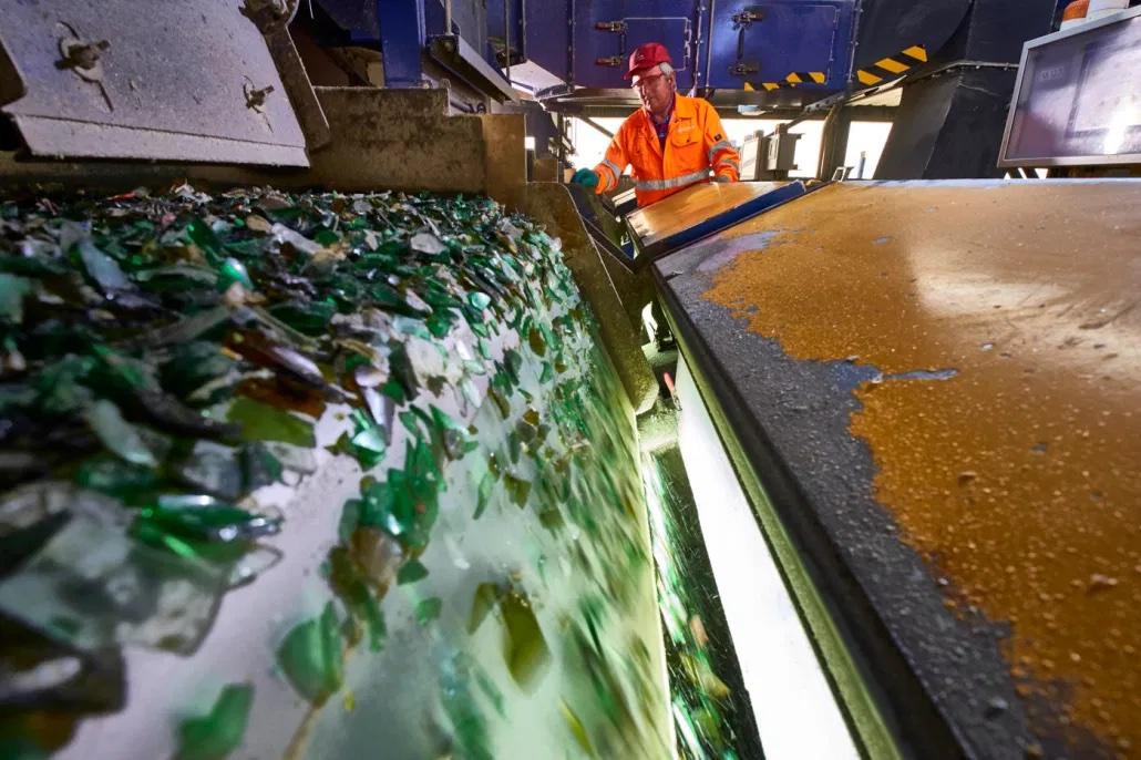 Industriefotografie, Industriefotograf, Recycling, Entsorgung, Abfallwirtschaft, Wertstoffe