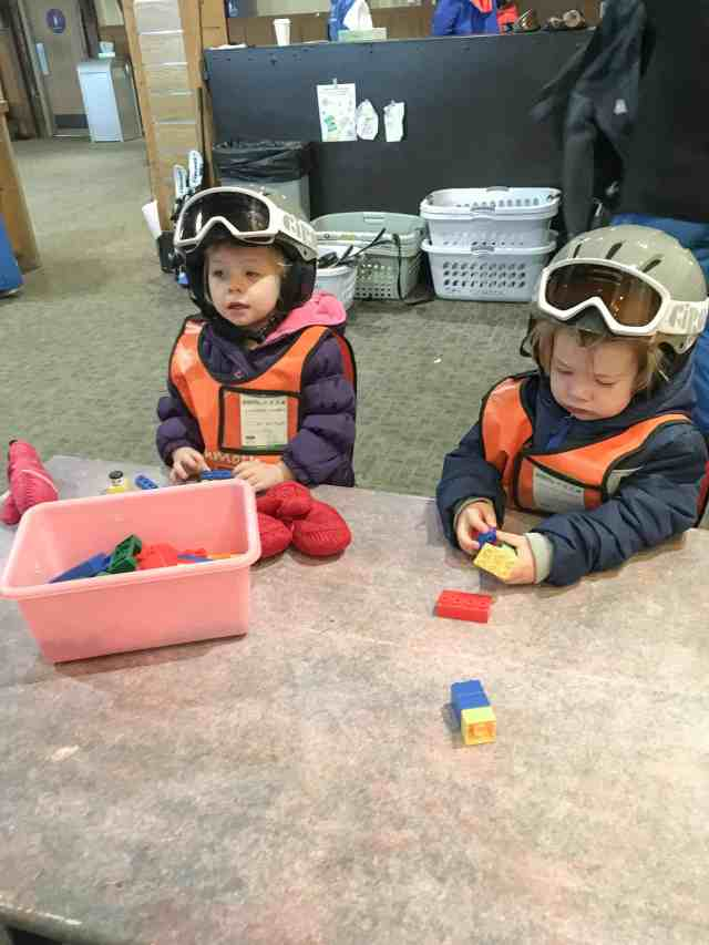 A short weekend trip to the Villages at Mammoth resort. Toddlers at ski school