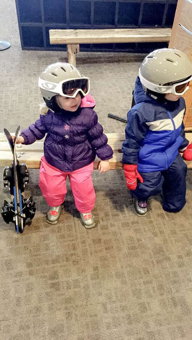 A short weekend trip to the Villages at Mammoth Resort. Skiing and snow adventures in Mammoth with toddlers.