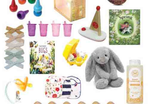 25 ideas for filling your toddler and baby easter baskets (sweets free!)  Ahrens at Home
