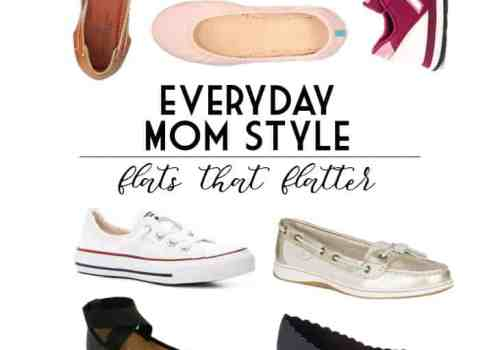 Every day mom style|Flats the Flatter