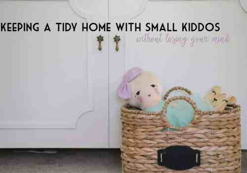Keeping a tidy home with kids Ahrens at Home