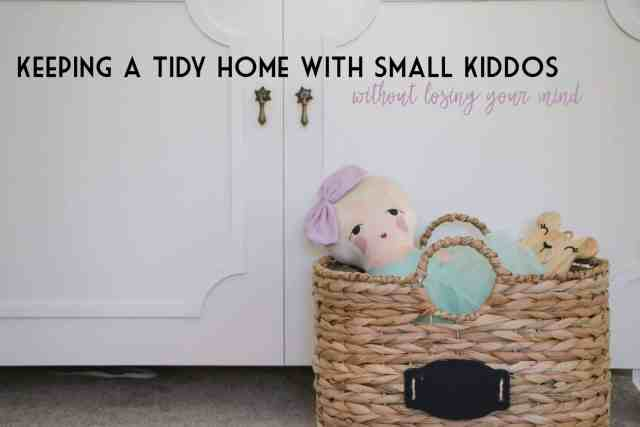 Keeping a tidy home with kids|Ahrens at Home