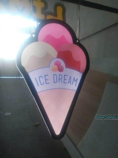 dondurmacı tabela
