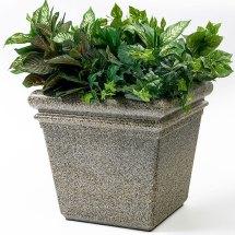 "Commercial Zone 18"" Stonetec Indoor Outdoor Planter"
