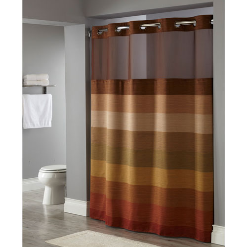 Hookless® Stratus Polyester Shower Curtain W It's A Snap