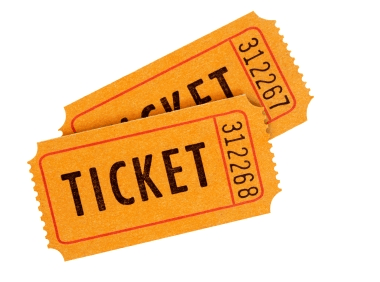 door prize tickets