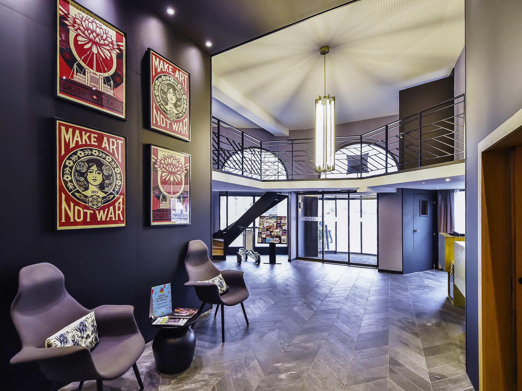 Hotel In Dijon - Ibis Styles Central