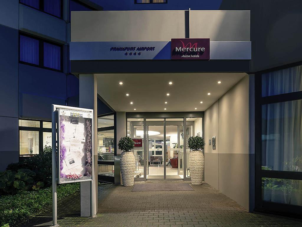 4 Star Hotel Frankfurt Airport Mercure Accor